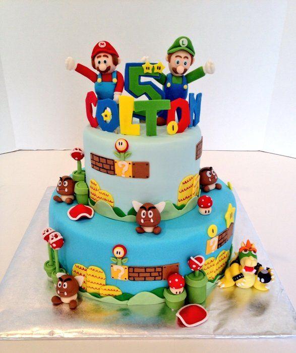 Paper Mario Cake Baking