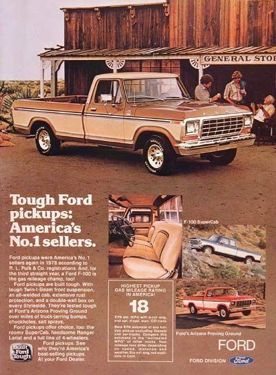 1979 Ford F-100 Pickup Truck