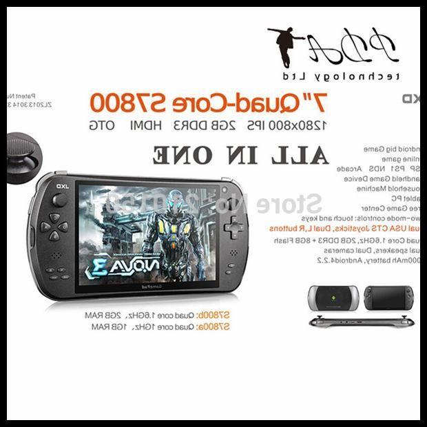 Портативная игровая консоль 3 S7800B android4.0 Jxd Hdmi , 7/2 g + 8 g 1280 * 800