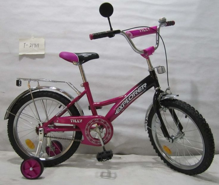 """Детский велосипед двухколесный TILLY EXPLORER 18"""" T-21811 purple  Цена: 60 AFN  Артикул: T-21811  Велосипед T-21811 - отличный детский городской велосипед, который способен подарить своему пользователю массу впечатлений от увлекательной прогулки  Подробнее о товаре на нашем сайте: https://prokids.pro/catalog/detskiy_transport/dvukhkolesnye_velosipedy/detskiy_velosiped_dvukhkolesnyy_tilly_explorer_18_t_21811_purple/"""