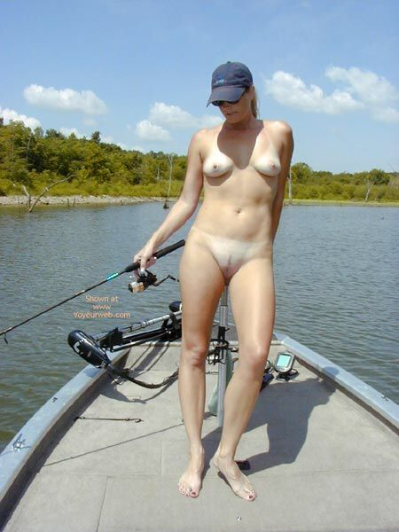naked girls fishing for bass