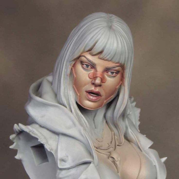 PRELUDE I recently undertook something of a personal painting challenge when I decided to paint the C- Girl Akito bust from Neko Galaxy. Although I've been painting minis, on and off, for 36 years …
