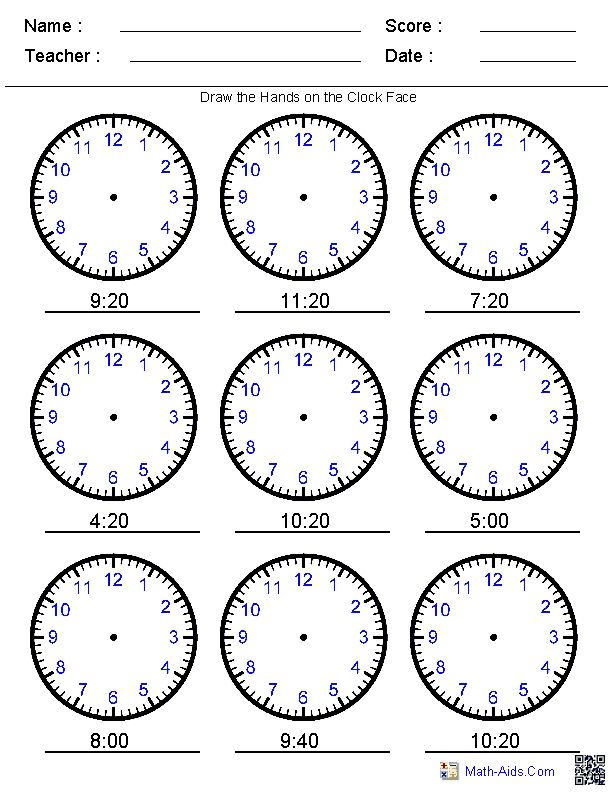 22 best images about Telling Time Printables on Pinterest | To ...