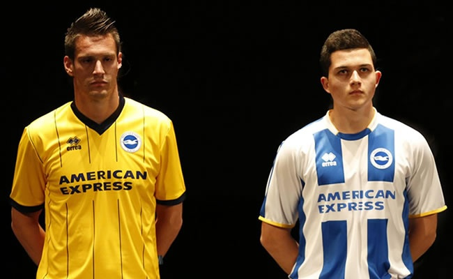 Brighton  Hove Albion 2013-14 Away Shirt