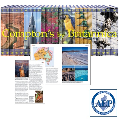 Written and visually designed for ages 10 to 17, the 2010 Compton's by Britannica has been thoroughly reviewed, updated, and revised by educators, expert contributors, and Britannica editors. Packed with dramatic pictures, detailed diagrams, and engaging text, Compton's gives young readers the basic facts and entices advanced students to dig deeper for the answers to their more complex questions.