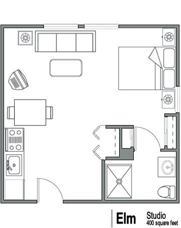 17 best images about floor plans on pinterest studios for 400 sq ft house floor plan