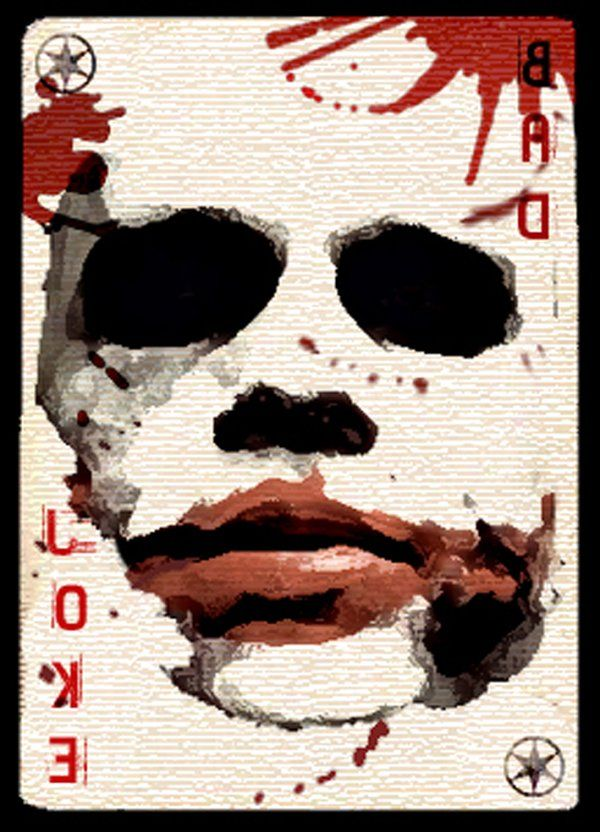 Pc128 - The joker card by Michel Angelo