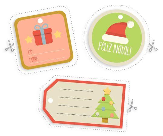 Cartões e Tags de Natal para Download – Blog do Tanlup