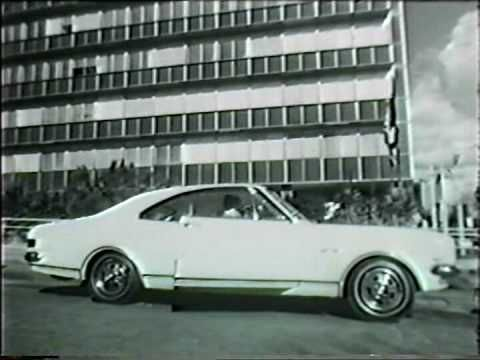 This isn't quite a Tesla but it did have its day, Holden Monaro http://wukar.com/video/1117648/holden-hk-monaro-tv-commercial-1968-/