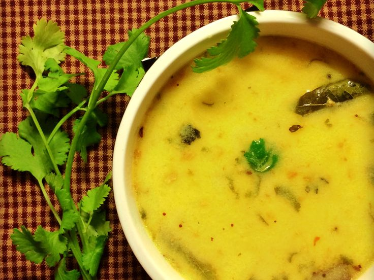 Kadhi - Indian Yogurt Soup