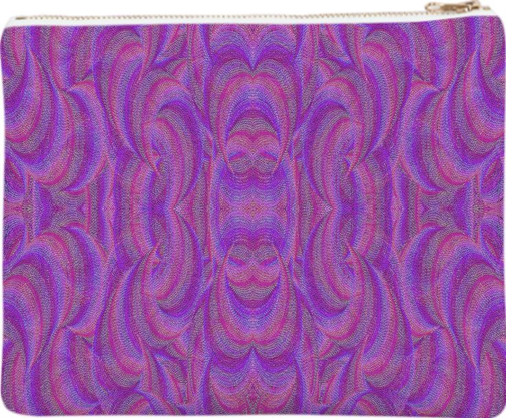 Clutch  with an ethnic style in pink from Print All Over Me