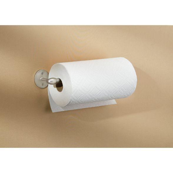 Interdesign Orbinni Wall Mount Paper Towel Holder 14 Gray Paper Towel Holder Metal Paper Towel Holder Towel Holder