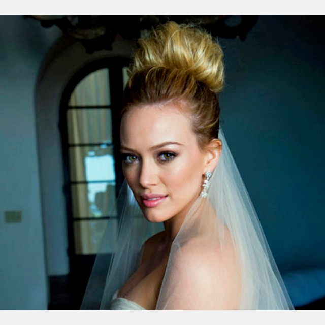 35 best hilary duff wedding images on pinterest hilary duff hilary duff wedding hair reception junglespirit Image collections