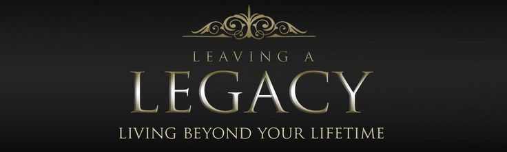 "Leaving a legacy is allowing God to multiply the seed sown in your life to the point where the work He has done in you gets multiplied indefinitely. Go to http://faithsmessenger.com/leaving-a-legacy/ to read the article ""Leaving a Legacy that Points to Jesus"""