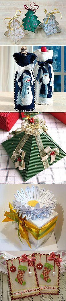 Идеи упаковки новогоднего подарка | Мир женщины