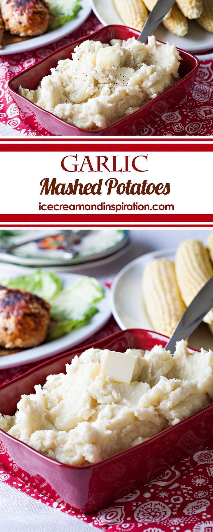 Perfect Garlic Mashed Potatoes from Cook's Country. Creamy and full of garlic flavor, they will become your new favorite mashed potatoes!