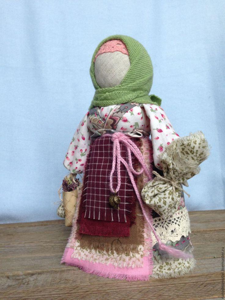 Купить Берегиня дома народная кукла оберег(зеленый, бордовый, серый) - зеленый, оберег для дома