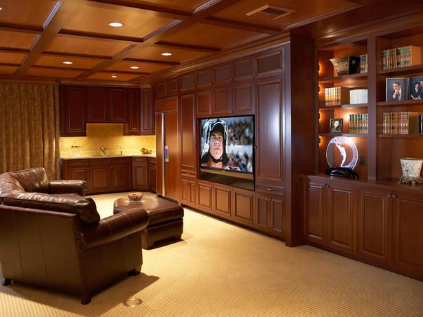 Dream media rooms for Home tv room design ideas