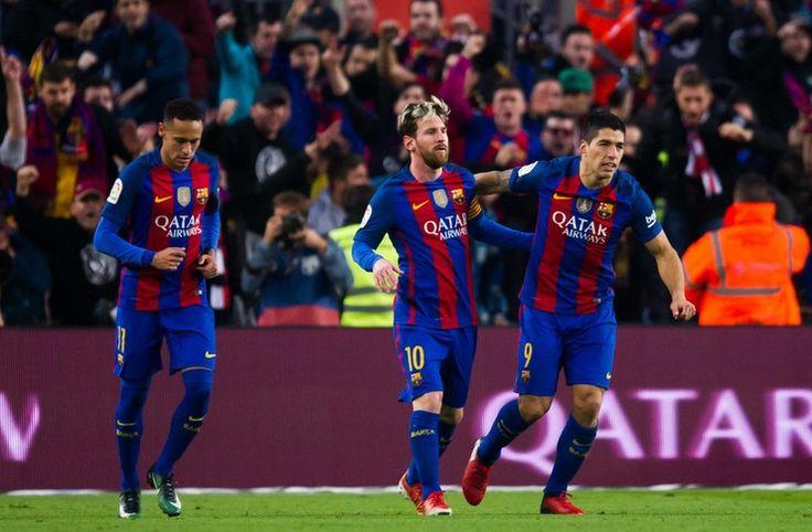 Liga Spanyol: Trio MSN Tembus 100 Gol Tiga Musim Beruntun -  https://www.football5star.com/liga-spanyol/barcelona/liga-spanyol-trio-msn-tembus-100-gol-tiga-musim-beruntun/