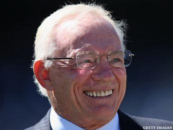 Apparently, a few billion dollars doesn't buy what it used to. Dallas Cowboys owner Jerry Jones, whose net worth is estimated at $2.7 billion...