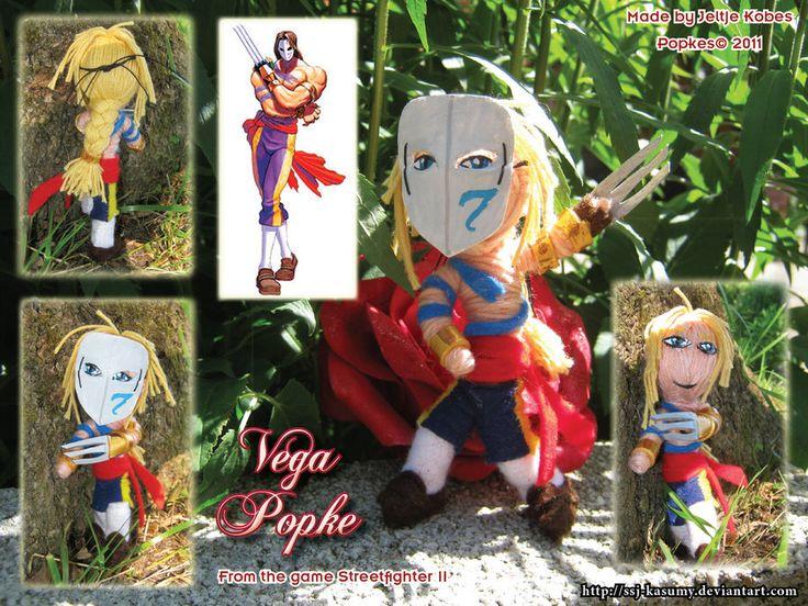 Street Fighter II - Vega Popkes