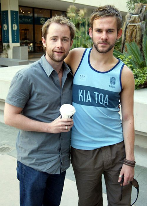 Billy Boyd and Dominic Monaghan ~ Not exactly classically handsome, but I love these two.  Would love to see them work together again.