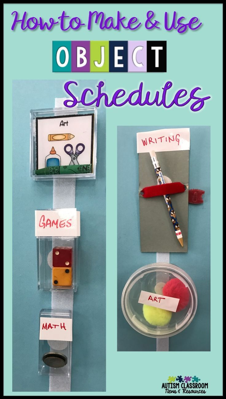 Do you have students who might benefit from using object schedules or using objects to communicate?  I'm sharing different types of object schedules including how to help students make the shift to visual schedules.  Ideas for individuals with autism, int