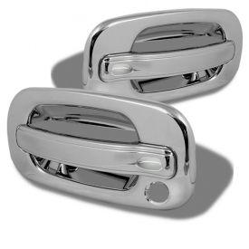 99 06 Chevy Silverado 2dr 99 06 Gmc Sierra 2dr Door Handle No Pskh Chrome Exterior