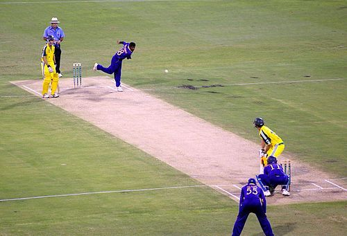 """History Main article: History of cricket Early cricket was at some time or another described as """"a club striking a ball (like) the ancient games of club-ball, stool-ball, trap-ball, stob-ball"""""""