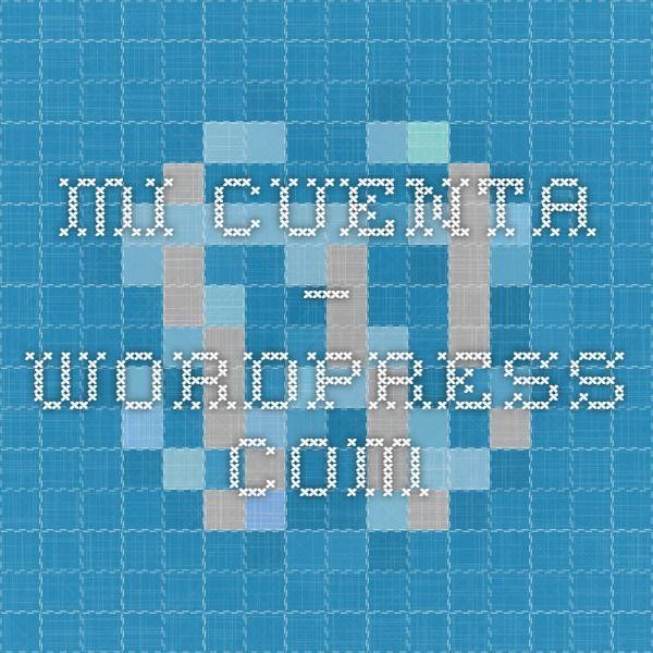 Mi Cuenta — WordPress.com