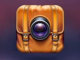 I like the rendering of this backpack, but I imagine it as a treasure chest. Ditch the camera lens for the games initials and Voila!