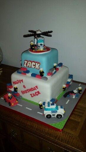 My first lego city cake