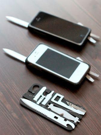 Task One : une coque iPhone couteau suisse à tout faire