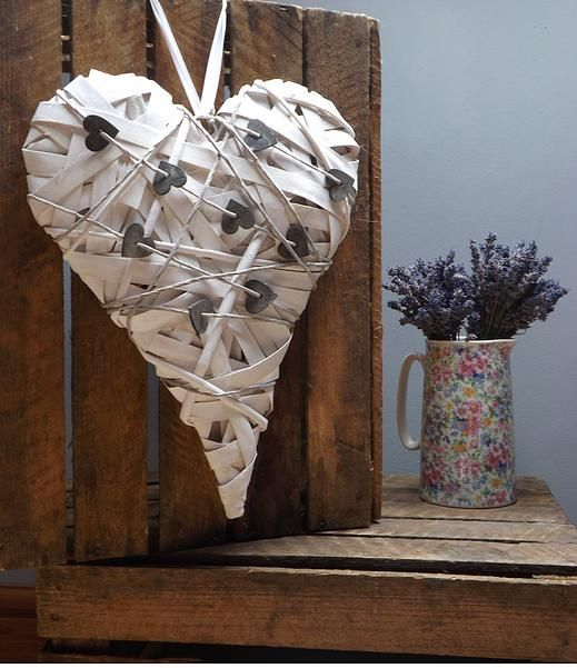 therusticparlour | Hearts & Signs | For Hire | Events & Weddings | Rustic |