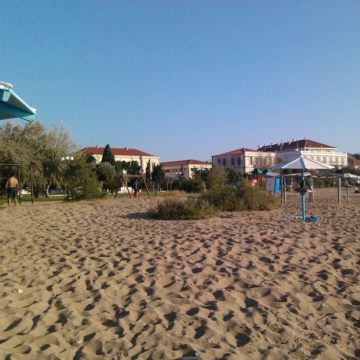 Myrina, Romeikos Gialos, LIMNOS island, photo by Electra Koutouki 2014