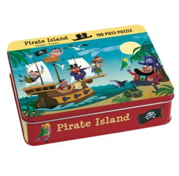 100 piece puzzle Pirate Island - Bobangles #Mudpuppy #kids #pirate #puzzle