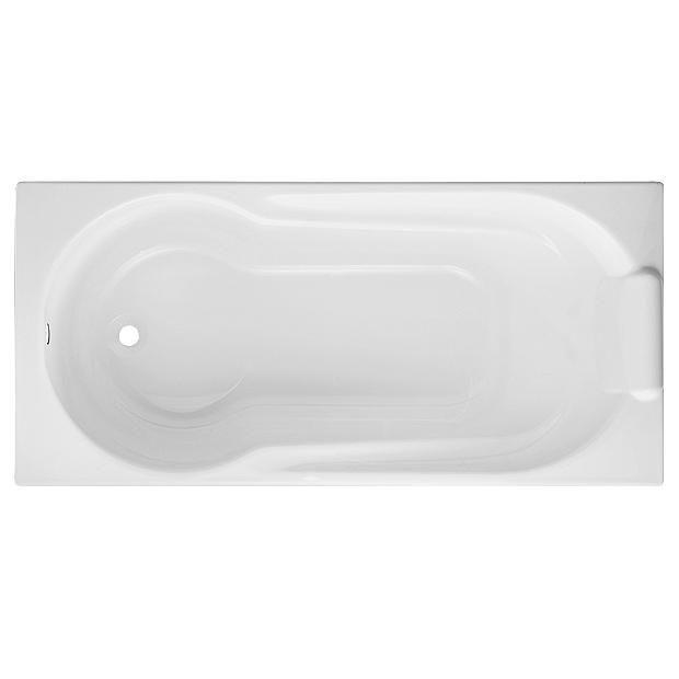 Baignoire droite acryl harmonie lapeyre for Lapeyre baignoire douche