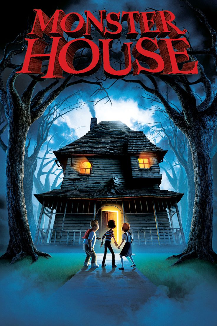 Monster House Movie Poster Steve Buscemi, Nick Cannon