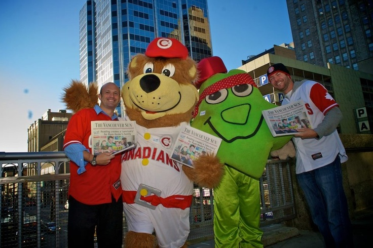 The Vancouver Canadians support Raise-a-Reader!