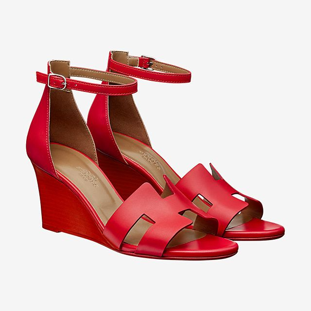 940a8e846 Legend sandal - front. Legend sandal - front Red Wedge Shoes