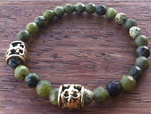 Hawaii Barcelet by nunKi // Gemstone & Metal // #Menswear #Pulseira #Homem #Bijutaria