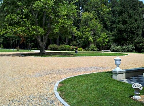 How To Landscape Ugly Driveway Gravel Driveway Design