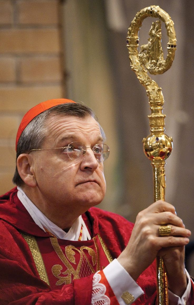 The Badger Catholic: Cardinal Burke: To Transform Society, Be Ready to Die