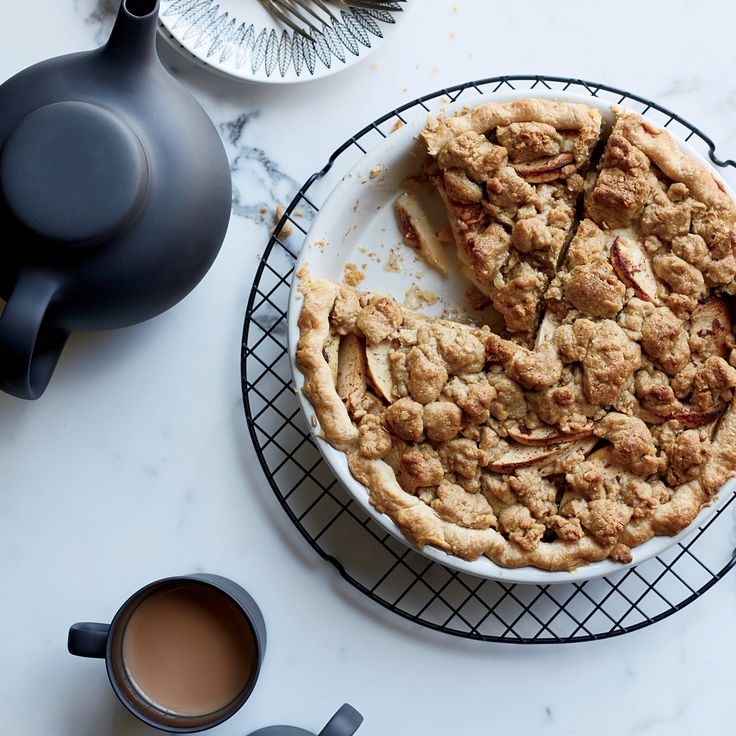 This best-ever apple pie is topped with an abundance of crunchy, buttery crumble. Get the recipe from Food & Wine.