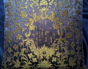 Rubelli Sherazade Lampas tissu oreiller jet par OggettiVeneziani