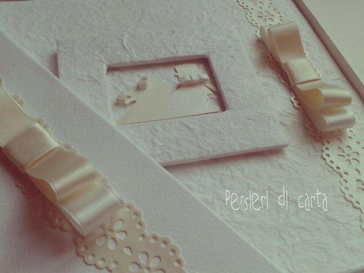 Rilegato a mano... #album #foto #guestbook