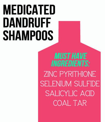 dandruff shampoo ingredients