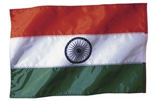 Reise nach Indien - Test: Sind Sie eine Reise-Expertin? - Indische Flagge