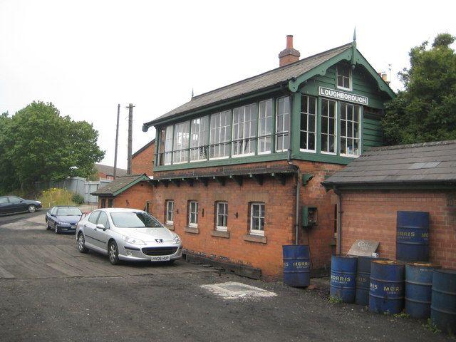 Loughborough: Great Central Railway: Signal Box