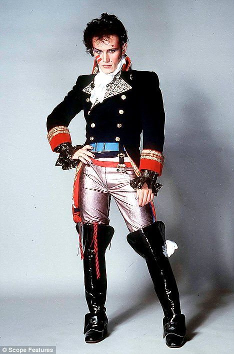 Adam Ants..how I loved this man..and proudly own his Greatest Hits Album and jump around like a loon at Prince Charming..yep..you know the dance steps..don't you? lol